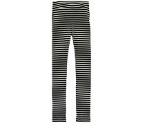 Nitemille Leggings schwarz / weiß