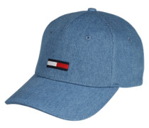 Basecap 'denim' blau