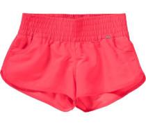 Bade Shorts neonrot
