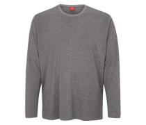 Longsleeve aus Baumwolle grau