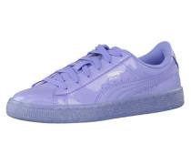 Sneaker Basket Patent Iced Glitter Jr lila