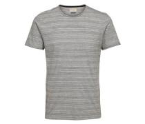 T-Shirt Rundhalsausschnitt grau