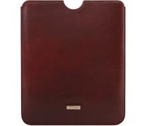 Slg Story Line Mini iPad Case Leder 212 cm dunkelrot