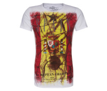 T-Shirt 'Team Spain' weiß