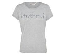 T-Shirt 'simplicity' graumeliert