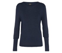 Langarm Pullover 'dina' nachtblau