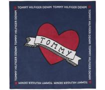 Schal 'tatoo Tommy Denim Scarf' blau