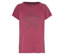 T-Shirt 'Stud Detail Tee' rot
