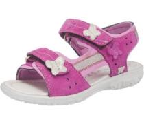 Sandalen Weite M für Mädchen pink / weiß