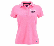 Poloshirt 'applique Polo' pink