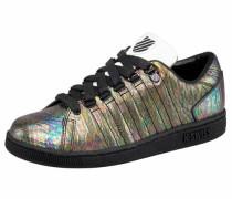 Sneaker 'Lozan III Reptile' gold / schwarz