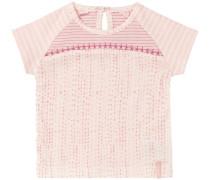 T-shirt Elyris pfirsich / rosa