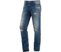 Justin Loose Fit Jeans Herren blau