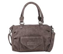 Handtasche 'Emmy' im Used-Look dunkelbraun