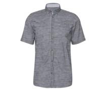 Hemd 'Ray printed blurry stripeshirt' dunkelblau