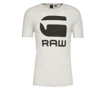 T-Shirt 'Drillon' schwarz / weiß