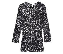 Kleid mit langen Ärmeln nitwanilla schwarz / weiß