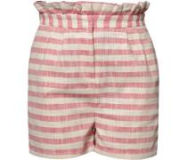 Shorts beige / rotmeliert