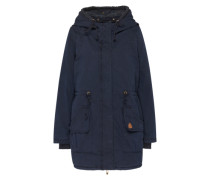 Parka 'Sweat Hood' blau