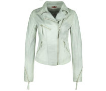 Lederjacke Starlight mint