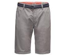 Chino-Shorts grau