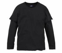 Layershirt schwarz