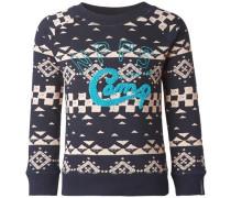 Sweater Hartselle dunkelblau / rosa
