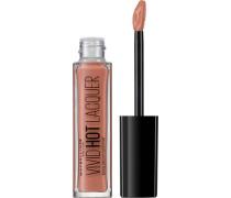 'Color Sensational Vivid Hot Laquer Lippenstift' Lippenstift hellbraun