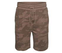 Shorts 'camou AOP Shorts' taupe