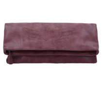 'Ronja BW Vintage' Clutch Umhängetasche 29 cm rot
