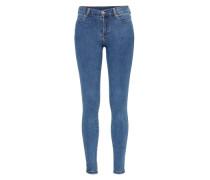 'Lexy' Skinny Jeans hellblau