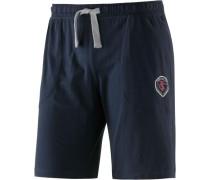 Shorts dunkelblau / grau