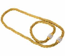 Kette und Armband Set (Set 2 tlg.) gold / weiß