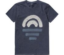 T-Shirt für Jungen dunkelblau