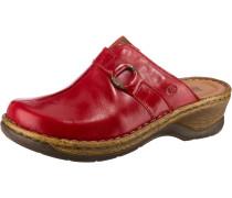 Catalonia 57 Komfort-Pantoletten rot