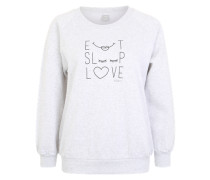Sweatshirt 'Needs' grau