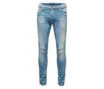 'Skim' Skinny-Fit-Jeans blau