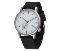 Armbanduhr 'Winston Subs' schwarz / silber