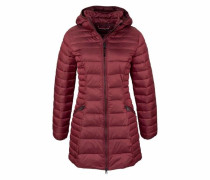 Steppjacke 'Aerons wom long' bordeaux