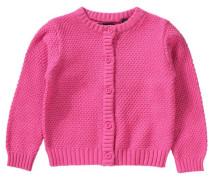 Baby Strickjacke pink