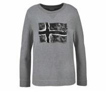 Sweatshirt 'Barise' dunkelgrau / graumeliert