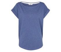 T-Shirt 'Bell' blau