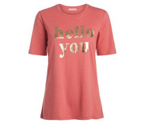 Statement-T-Shirt pink