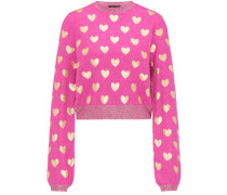 Pullover gold / pink