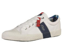 Sneaker ultramarinblau / weiß