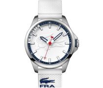 Armbanduhr 'capbreton' weiß