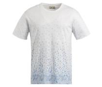 Shirt 'ulfan' blau / weiß