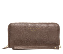 Portemonnaie mit Smartphone-Fach bronze