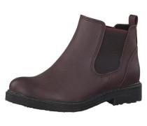 Chelsea Boots für Mädchen weinrot