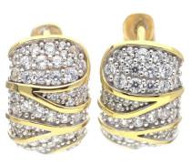 Creolen 'Adelphia' gold / silber